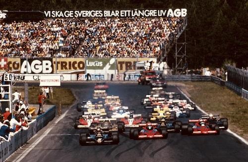 Formel 1 på Anderstorp 1978.