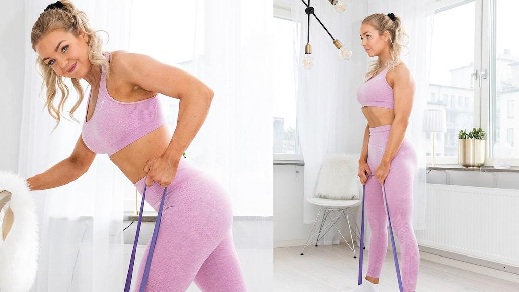 Gör dessa övningar tre gånger i veckan för bäst resultat.