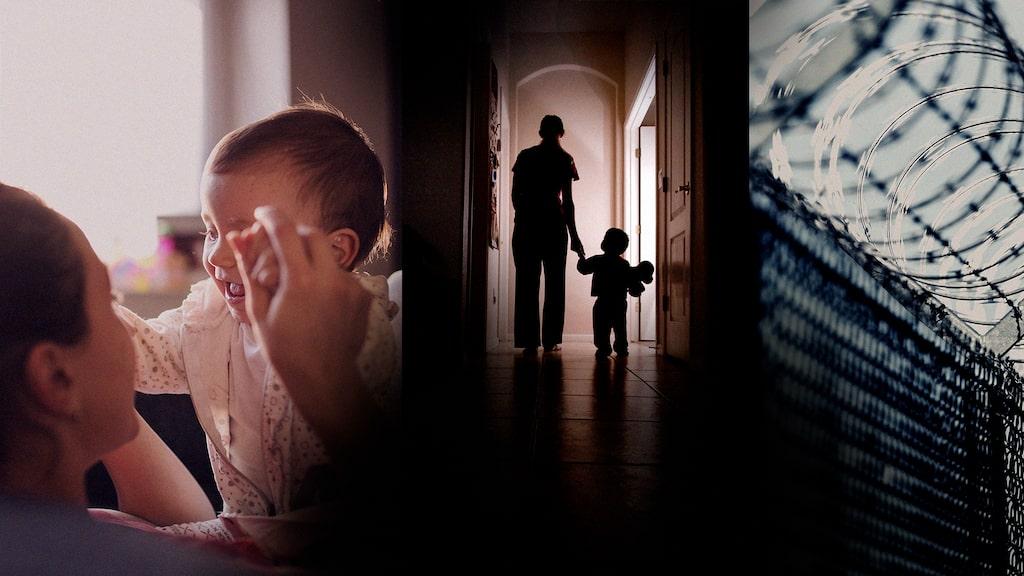 Sofia bor med sin bebis i fängelset. Personerna på bild har inget med artikeln att göra.