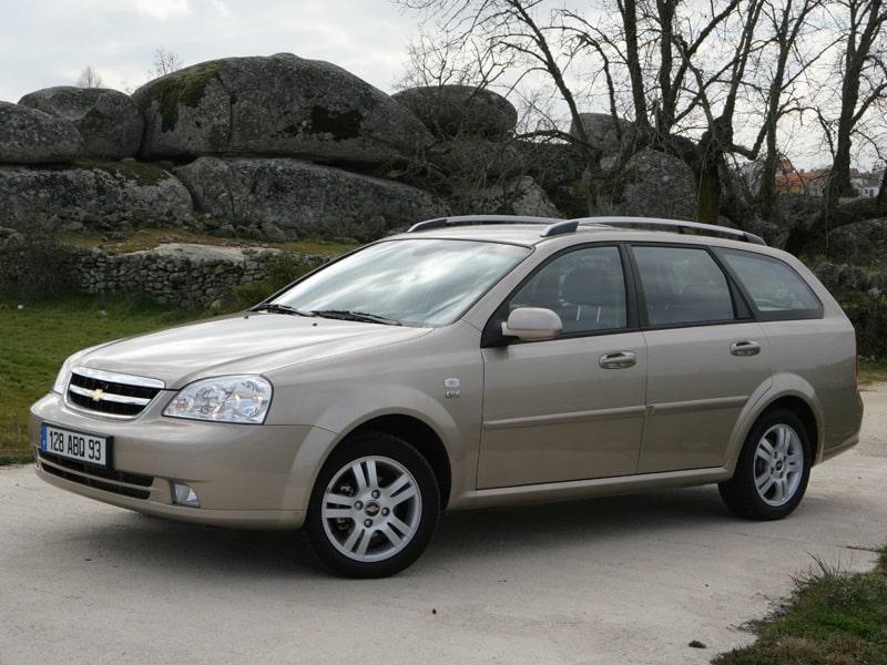 Provkörning av Chevrolet Nubira SW 2,0D