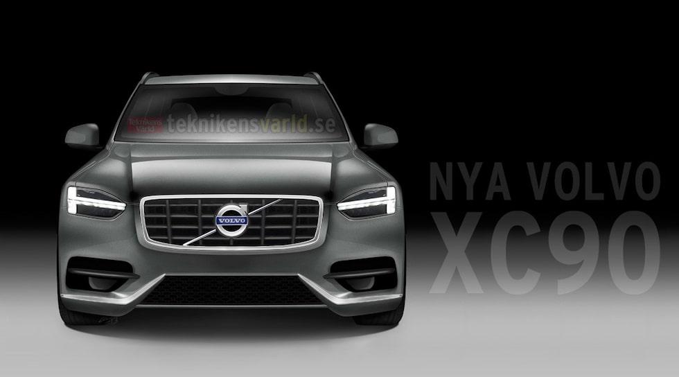 Nya Volvo XC90 2015