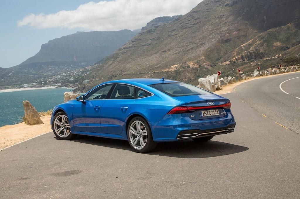 Nya A7 gör 0-100 km/h på 5,3 sekunder. Inte illa för en sådan stor bil.