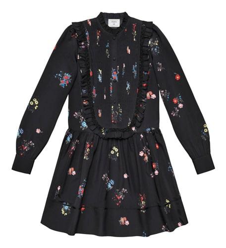 Mönstrad klänning, 999 kronor.