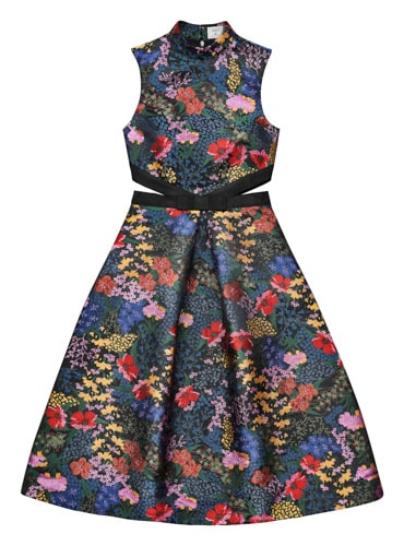 Jacquardmönstrad klänning, 1 499 kronor.