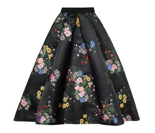 Jacquardmönstrad kjol, 1 499 kronor.