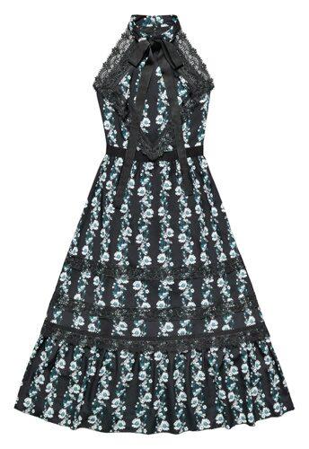 Mönstrad klänning, 1 299 kronor.