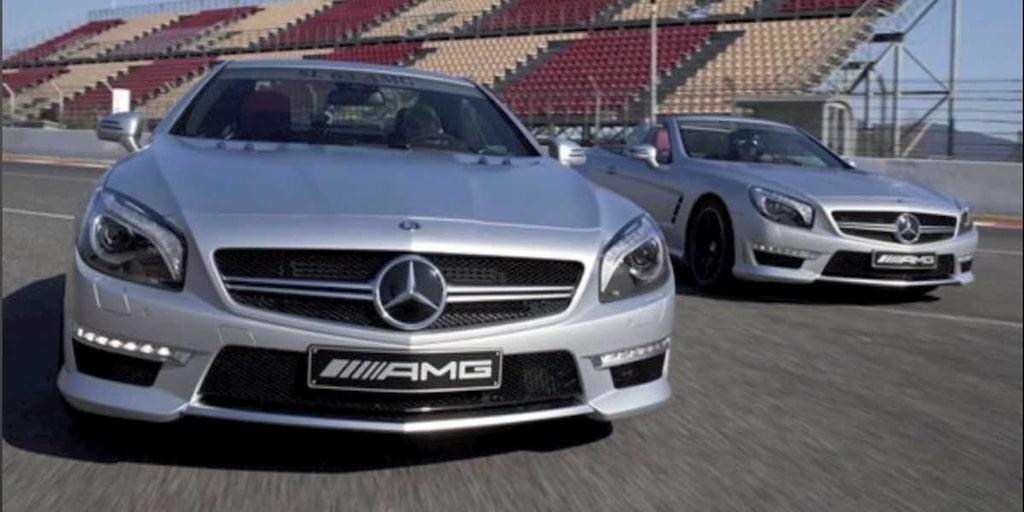 Nya Mercedes SL 63 AMG 2012