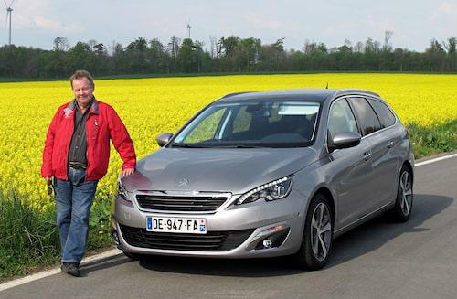 PeO Kjellström, numera i rätt ålder för en Peugeot.