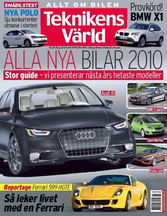 Teknikens Värld nummer 23 / 2009
