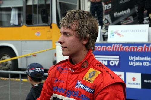 Med två andraplatser verkade inte Mattias Lindberg särskilt besviken.