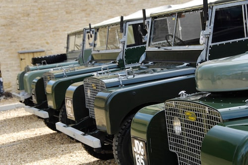 Land Rover Defender har funnits länge...