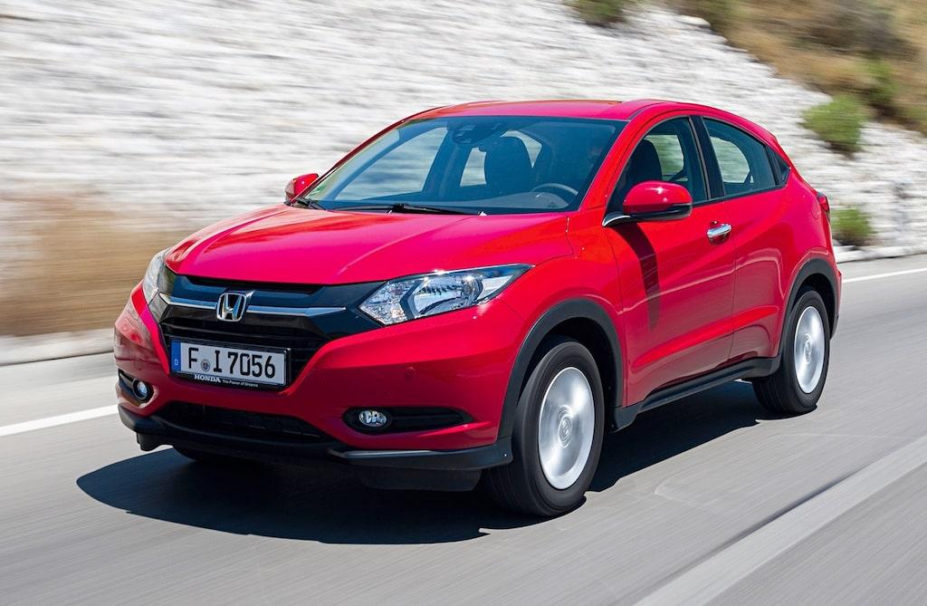 Honda Vezel, som här i Sverige heter HR-V.