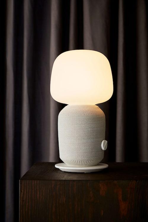 Symfonisk bordslampa med wifihögtalare, 1 995 kr.