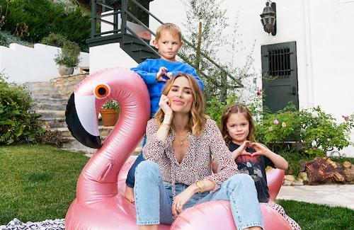 Kläddesignern Anine Bing och barnen Benjamin och Bianca öppnar sitt hem i Los Angeles och pratar bland annat om Gina Tricot-kollektionen.