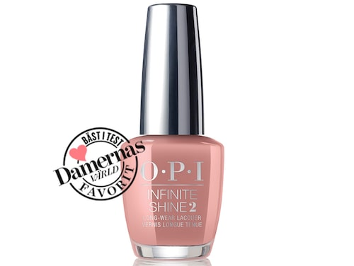 Recension på Infinite shine nailpolish i nyans Dulce de leche, Opi.
