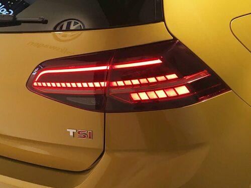 LED-lampor i baklyktorna är förvisso inte helt nytt men nu bjuds det som standardutrustning i alla Golf.