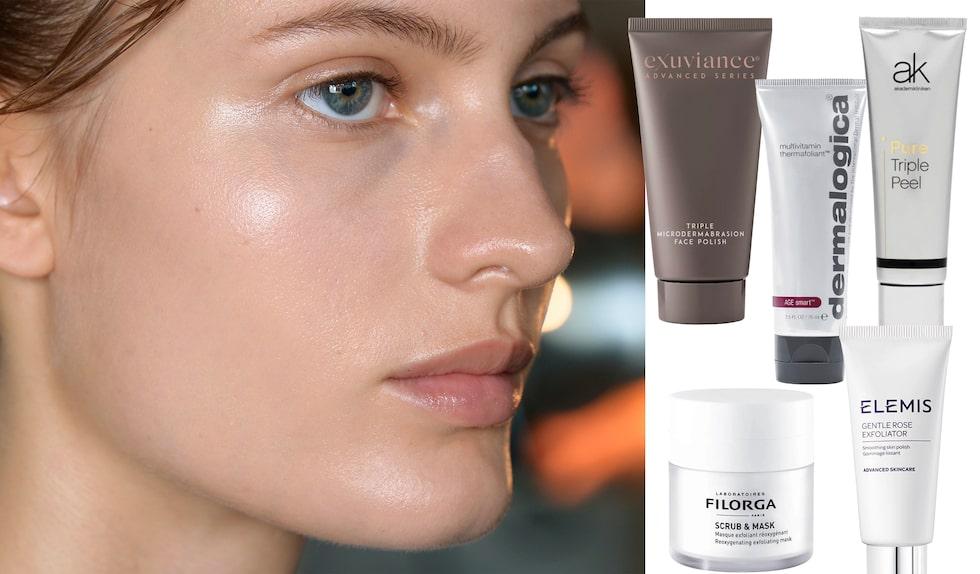Vilken fysisk ansiktspeeling är bäst i test 2021 mot torr hud?
