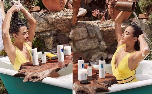 Samtliga produkter i Hair Care-serien funkar för alla hårtyper och färger och går att mixa. Dem hålls samman mellan varandra med en varsin signaturdoft.
