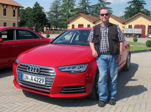 Peo Kjellström tycker att nya Audi A4 är bättre på allt jämfört med gamla modellen.