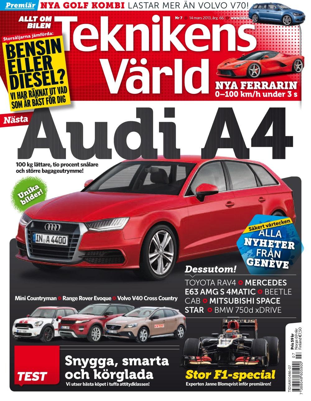 Teknikens Värld nummer 7 / 2013