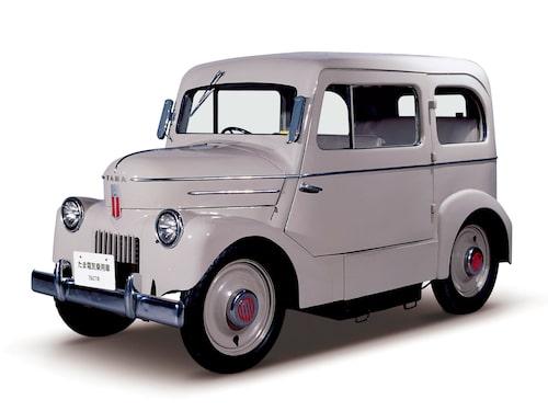 Modellen Tama från 1947 var eldriven.