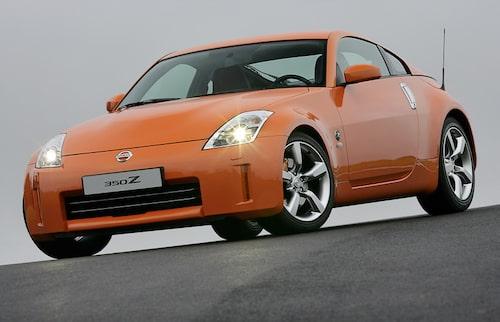 Comeback för Z i form av Nissan 350Z.