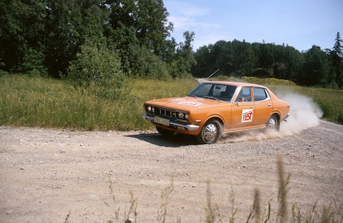 Datsun 160 J under test 1973.