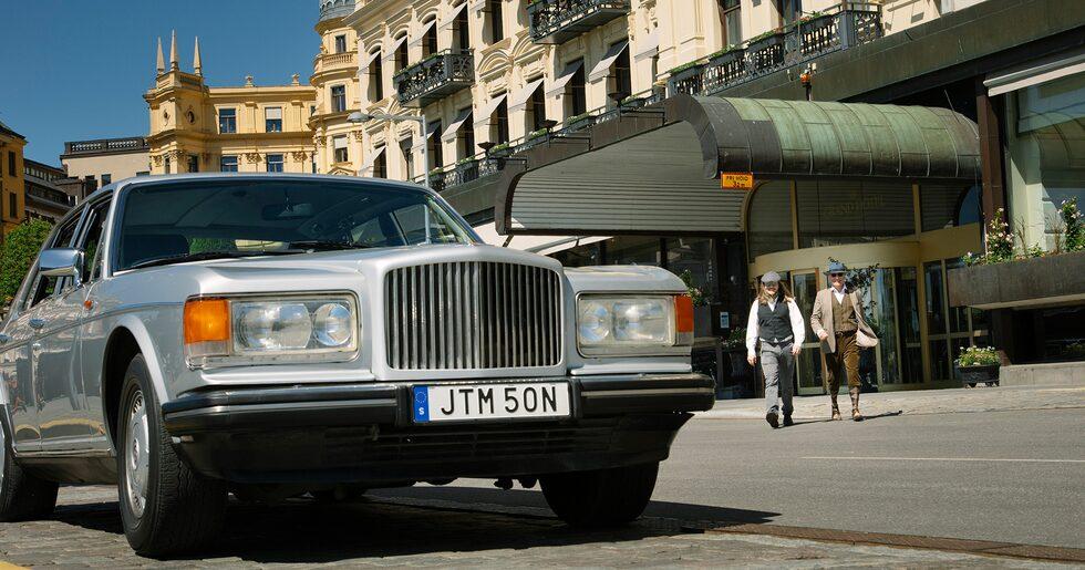 Gentlemen, start your engine! Den röda loggan visar att det är en Turbo R.