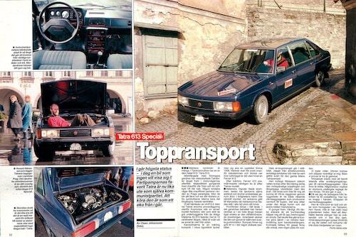 Teknikens Värld nummer 9/1990.