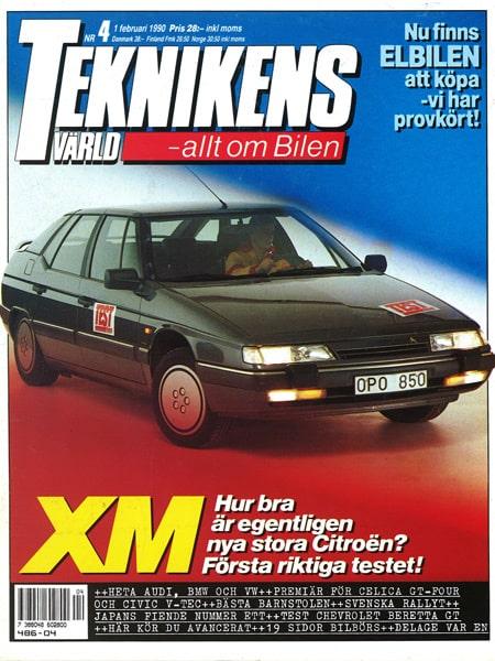 Teknikens Värld nummer 4 / 1990