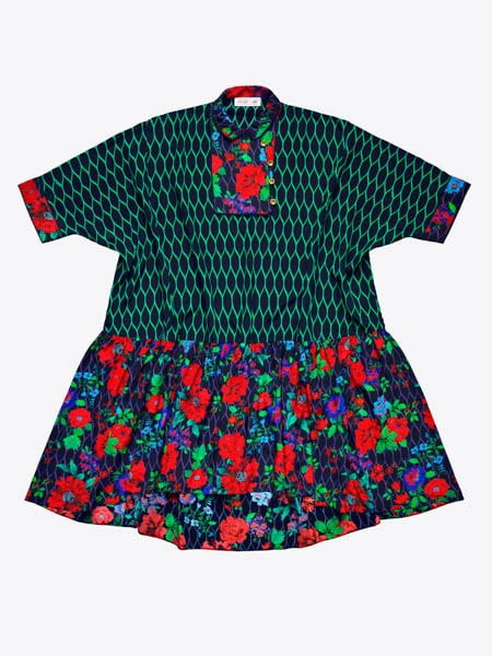 Vid sidenklänning, 1499 kr