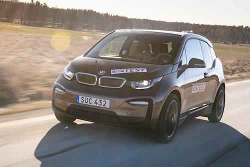 BMW i3 i test i Teknikens Värld nummer 7/2019.