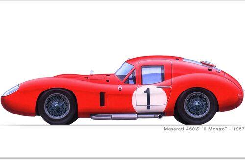 Maserati 450S Coupé.
