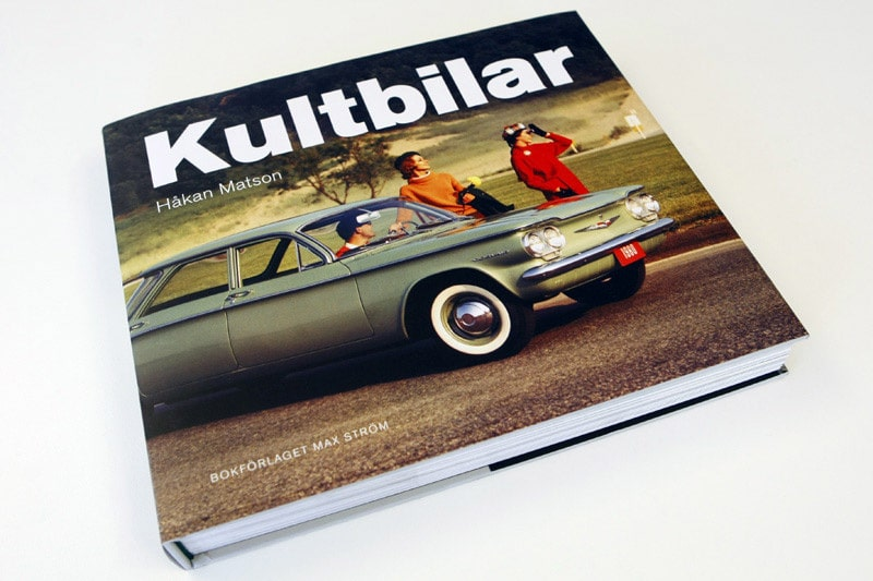Ena priset är Håkan Matsons bok Kultbilar,drygt 270 sidor med härliga bilar från Alfa Romeo till Volvo.