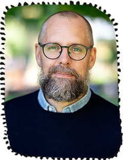 Gustaf Gredebäck, professor i utvecklingspsykologi, Uppsala universitet.