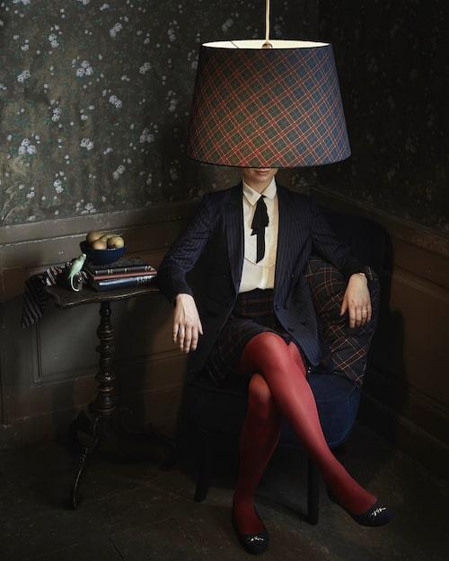 Ryra lampskärm.