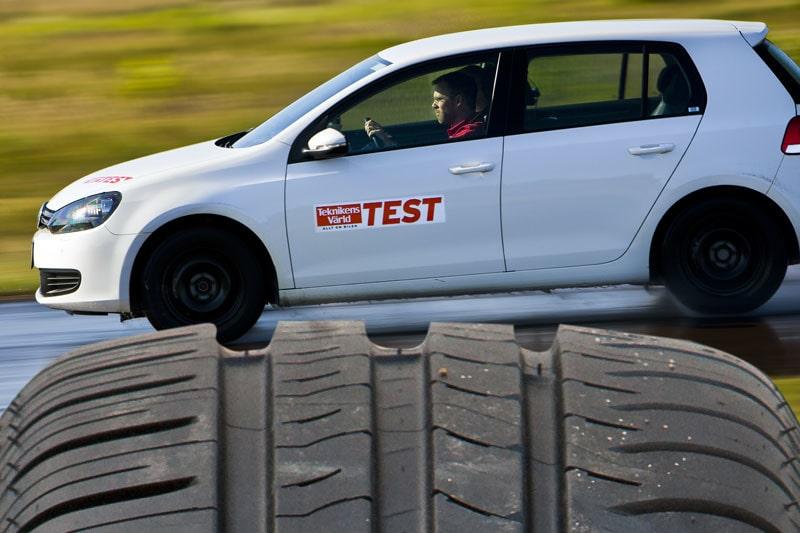 Test av tio olika sommardäck/miljödäck.
