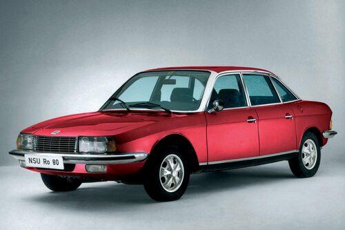 7. NSU Ro80. Årets bil blev en gigantisk flopp.