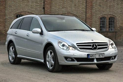 10. MERCEDES R-KLASS. En fyrsitsig limpa. Varför Mercedes – varför?