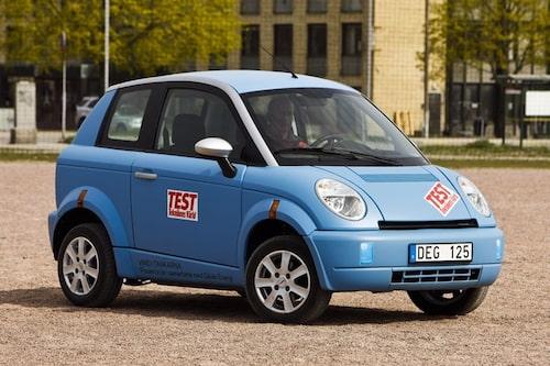 6. THINK. Norsk elbil som förutspåddes grönt ljus. Vad hände?