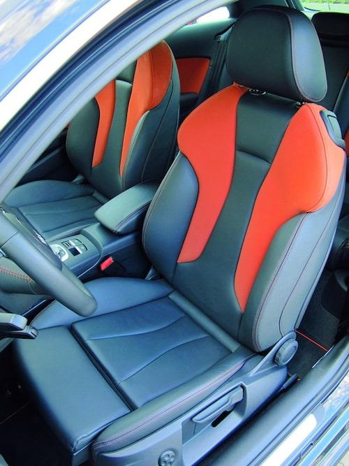 Utrymmen och komfort talar för Audi A3. En mängd alternativ ger valfrihet efter smak.