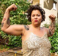 Anna Suvanna Davidsson kände länge att hon inte hörde hemma i träningsvärlden. Nu är hon starkare än någonsin.