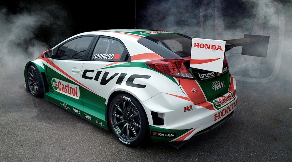 Honda Civic WTCC 2014 TC1