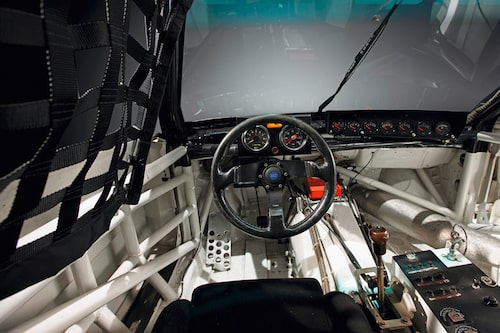 På den tiden när rattar fortfarande var runda: Audi 200 quattro TRANS-AM från 1988