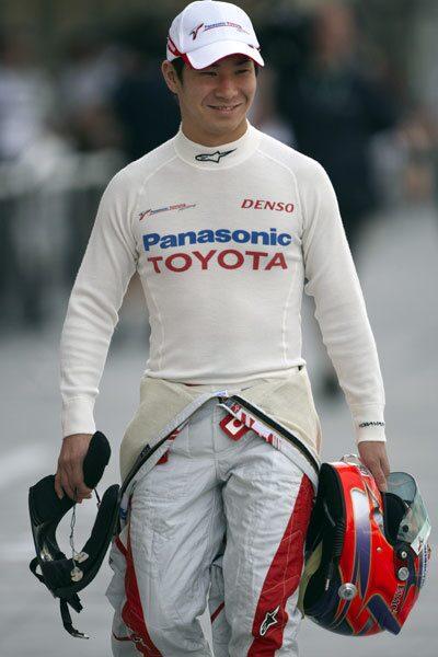 Kamui Kobayashi spås en lysande framtid.