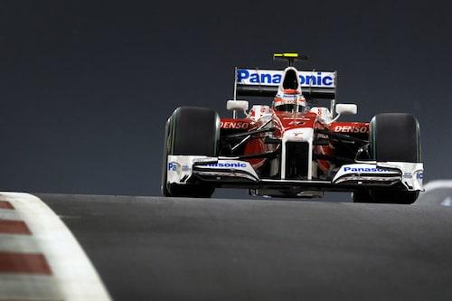 Kamui Kobayashi i Abu Dhabis GP-lopp tidigare i år.