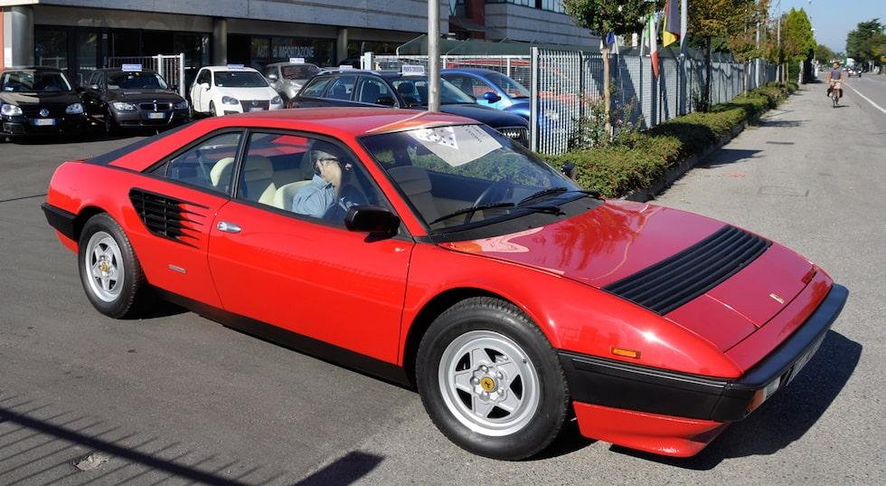 Ferrari Mondial – aka Teknikens Världs vinterskott Berlusconi