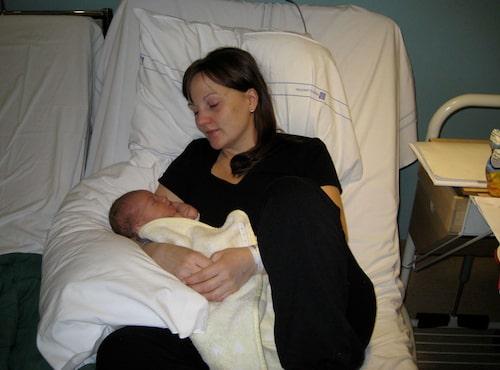 Alexander föddes 5 februari 2008. Foto: Privat