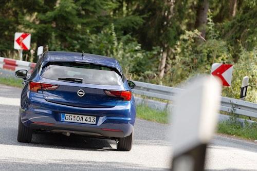 Med nya 1,5-litersdieseln går Astra att köra snålt på verklig väg. 1,2-litersbensinaren är inte riktigt lika snål.