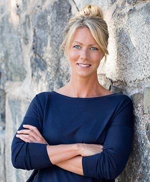 Kristina Andersson, näringsfysiolog och författare.